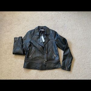 Michael stars convertible leather jacket